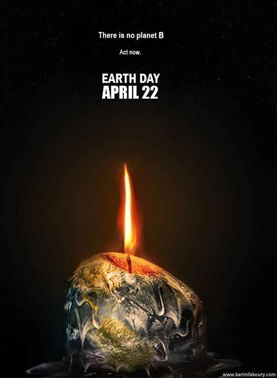 Earth Day Posters on Climate Change