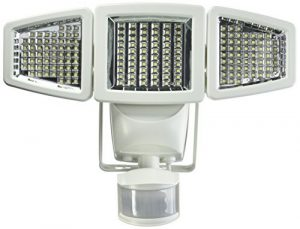Sunforce solar flood lights with 3 directional brightness