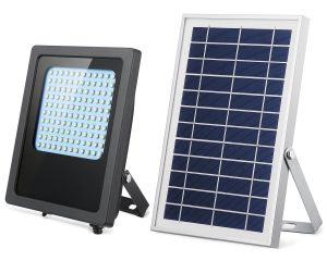 SunBonar solar flood lights with solar panel