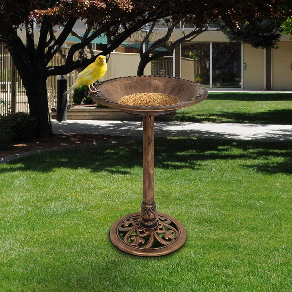 Oetymart solar bird baths