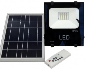Magellen remote control light with solar panel