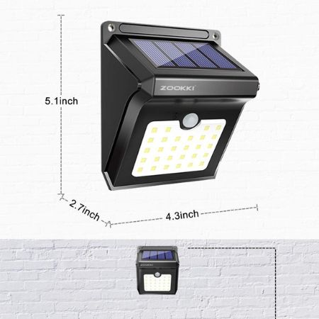zookki outdoor lights for security