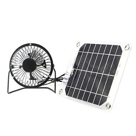 specific solar ventilator fan for ventilation and cooling