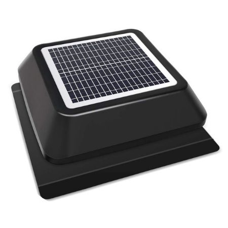 HQST solar powered fan for attic region