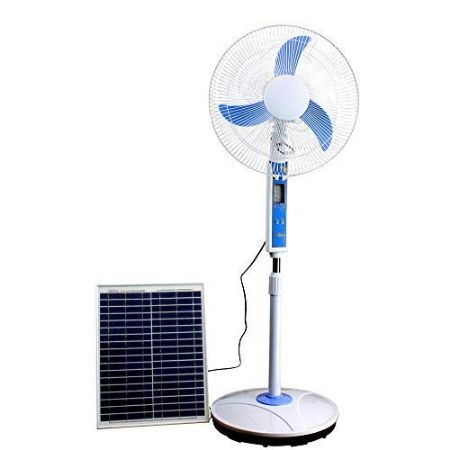 Cowin Solar Fan with accessories