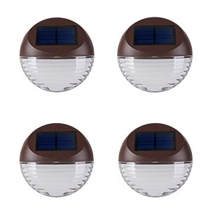 KINNA solar wall light with round shape