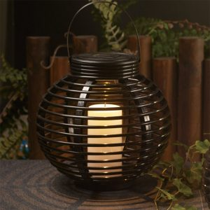 Doro88 round shaped solar powered lantern