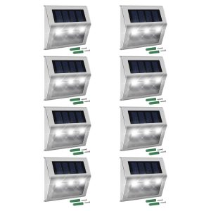 JACKYLED solar deck lights to save your electricity