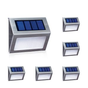 XLUX door steps solar powered lights