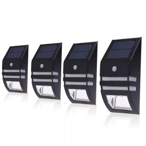Paradise solar LED fence light