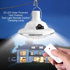 Wichemi Remote control hanging solar lights