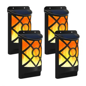 Aityvert Solar flame light for fences