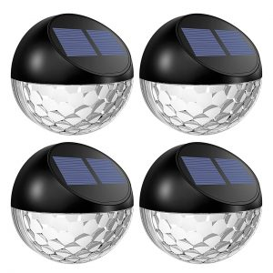 Lotim mini solar fence light